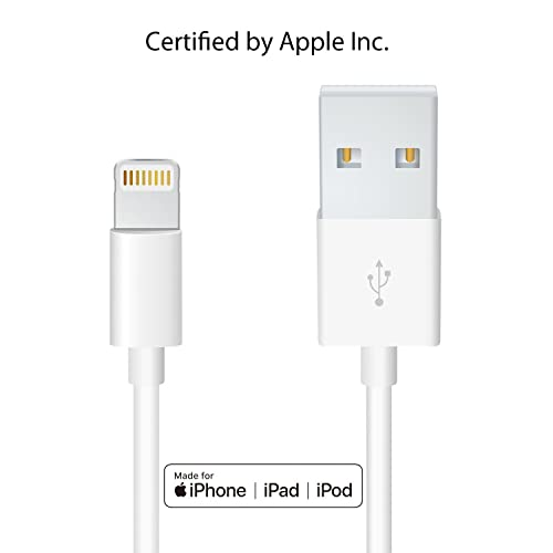 20d97921a9e Heardear Lightning to USB Cable[Apple MFi Certified]iPhone/iPad  charging/charger