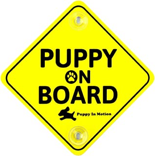Puppy On Board Car Sign