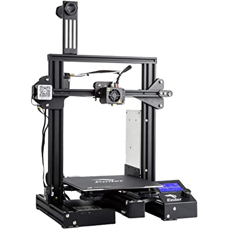 Comgrow WOL 3D Creality Ender 3 Pro 3D Printer with Upgrade Cmagnet Build Surface Plate and ul Certified Power Supply , 8.6 x 8.6 x 9.8-inch