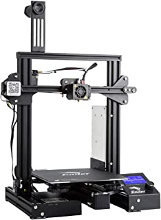 Comgrow WOL 3D Creality Ender 3 Pro 3D Printer with Upgrade Cmagnet Build Surface Plate and ul Certified Power Supply , 8....