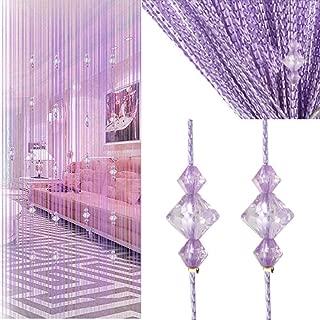 Crystal Beaded Curtain Tassel Curtain - Partition Door Curtain Beaded String Curtain Door Screen Panel Home Decor Divider Crystal Tassel Screen 90x200cm