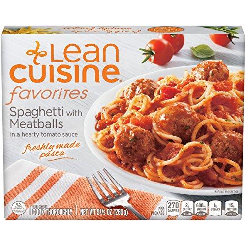Lean Cuisine Spaghetti and Meatballs