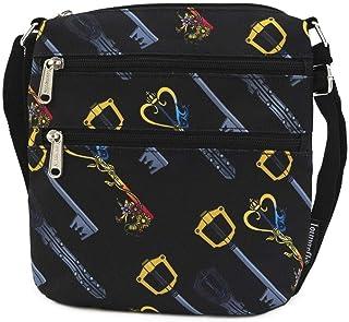 Loungefly Disney Kingdom Hearts Nylon Passport Crossbody Bag Purse