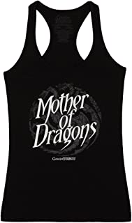 Game of Thrones Mother of Dragons Womens Tank Top - Black