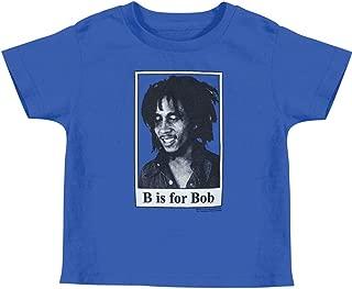 Bob Marley - B Is For Bob Toddler T-Shirt