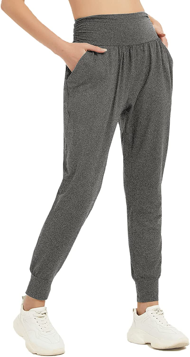 Latest item MUMUBREAL Womens Joggers Super special price Pants with Sw Yoga Pockets Waisted High