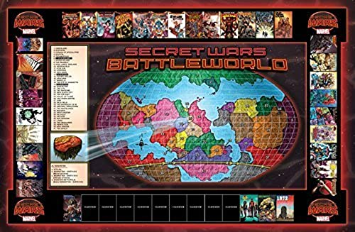 SECRET WARS  1 BATTLEBOARDS by Marvel Comics