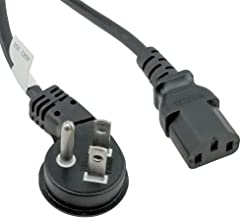 right angle tv power cords