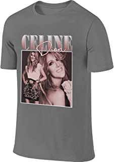 BTVE Celine Dion Casual Style Jogging Deep Heather T Shirts