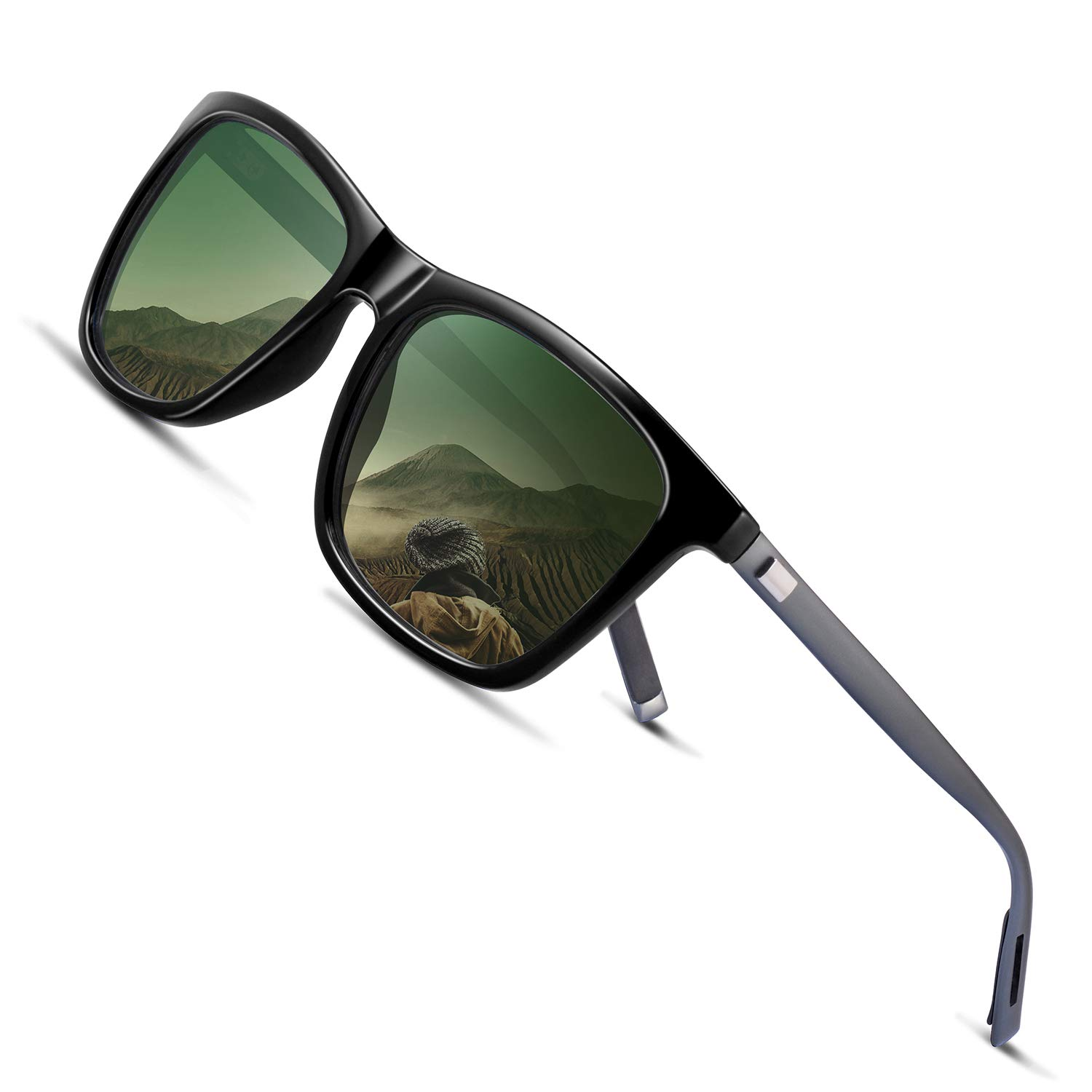 Cocoons Fitovers Polarized Sunglasses Aviator (XL)