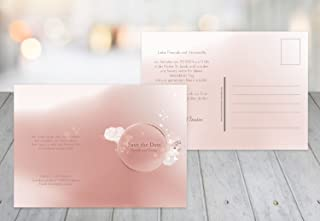 Kartenparadies Hochzeitskarte Save-the-Date Liebeszauber, hochwertige Save the Date Karte zur Hochzeit   30 Karten - (Format  148x105 mm) Farbe  PastellHellRot B01NBWQ6XG  Ausgezeichnete Qualität