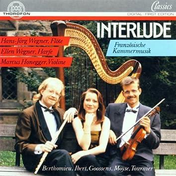 Interlude - Französische Musik für Flöte, Violine und Harfe