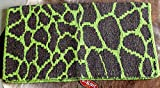 PRORIDER Horse Wool Western Show Trail Saddle Blanket Rodeo Pad Rug Lime Green 3671