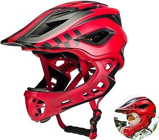 ROCKBROS(ロックブロス)キッズ オフロード ヘルメット 子供用 バイク ヘルメット 超軽量 高剛性 S(48-53cm)/M(53-58cm)