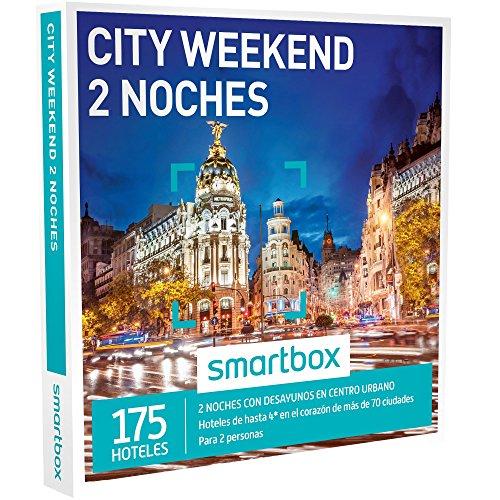 Smartbox - Caja Regalo -City Weekend 2 Noches - 175 hoteles urbanos de hasta 4* en el corazón de más de 70 Ciudades