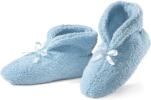 wholesale Ultra online Plush Chenille outlet sale Slippers, Blue online sale