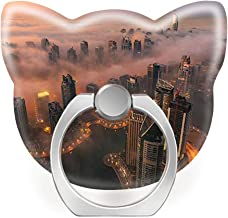 Cell Phone Ring Holder 360 Degrees Rotation Cat Shape Stand Works for All Smartphone and Tablets-Awesome Dubai UAE