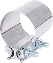 """BETTERCLOUD 3.5"""" Stainless Steel Butt Joint Band Exhaust Clamp with I Block"""