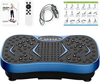 Fitness Vibration Plate Exercise Equipment Whole Body Shape Exercise Machine Vibration Platform Fit Massage Workout Trainer,Max User Weight 330lbs