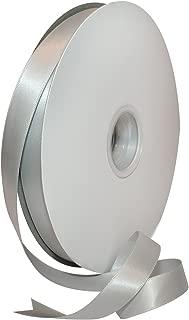Morex Ribbon 08816/00-007 Double Face Satin Polyester Ribbon, 5/8
