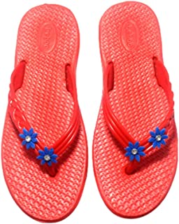 Daily use flip Flop Slippers Women Red
