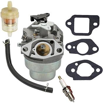 Amazon.com : Panari GCV160 Carburetor + Fuel Filter Spark Plug for Honda  GCV160A GCV160LA GCV160LE Engine HRB216 HRR216 HRS216 HRT216 HRZ216 Lawn  Mower : Garden & OutdoorAmazon.com