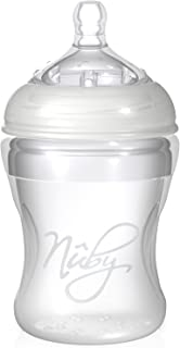 Nuby Natural Touch NT67017 SoftFlex Silicone Feeding Bottle 210 ml Neutral