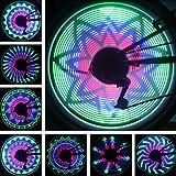 Pesp cdycam 36Luces LED 32Cambios de Bicicleta Rueda de Bicicleta luz, Ciclismo Bici neumático Rueda luz