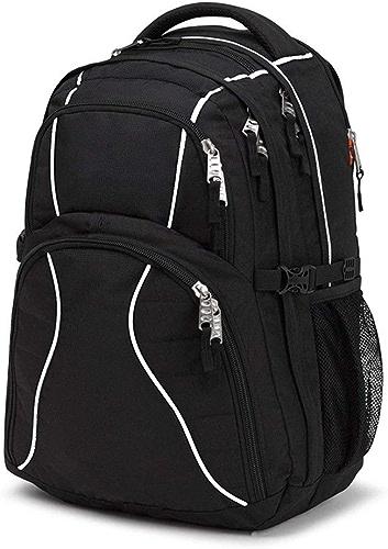 GAOXUFEI Multifonctionnel Sports sac à dos Sac à Dos de Grande capacité Sac de Voyage en Nylon imperméable extérieur (Noir) JF