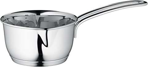 Kuchenprofi Stainless Steel Saucepan with Clad Bottom, 16 Ounce (Pack of 12)