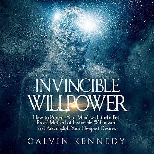 Invincible Willpower audiobook cover art