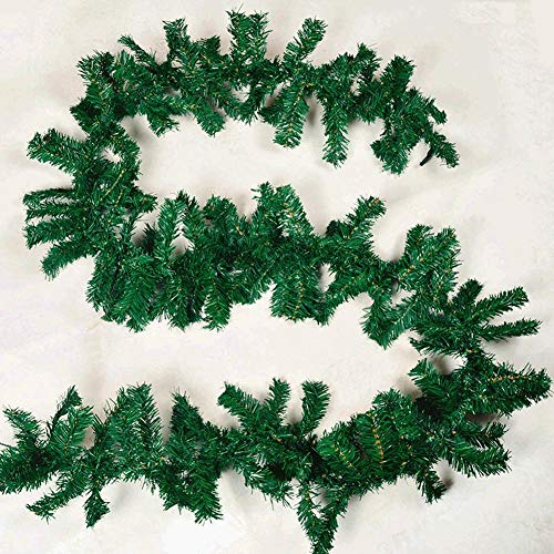 Diafrican Christmas Rattan Garland Christmas Ornament, Christmas Decoration Bar Tops Ribbon Garland Christmas Tree Ornaments,artificial Greenery Ivy Vine Plants For Home Decor Indoor Outdoors