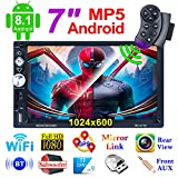 LSLYA Radio 2 DIN Andorid 8.1 Bluetooth car Stereo 7 inch 1080HD Capacitive...