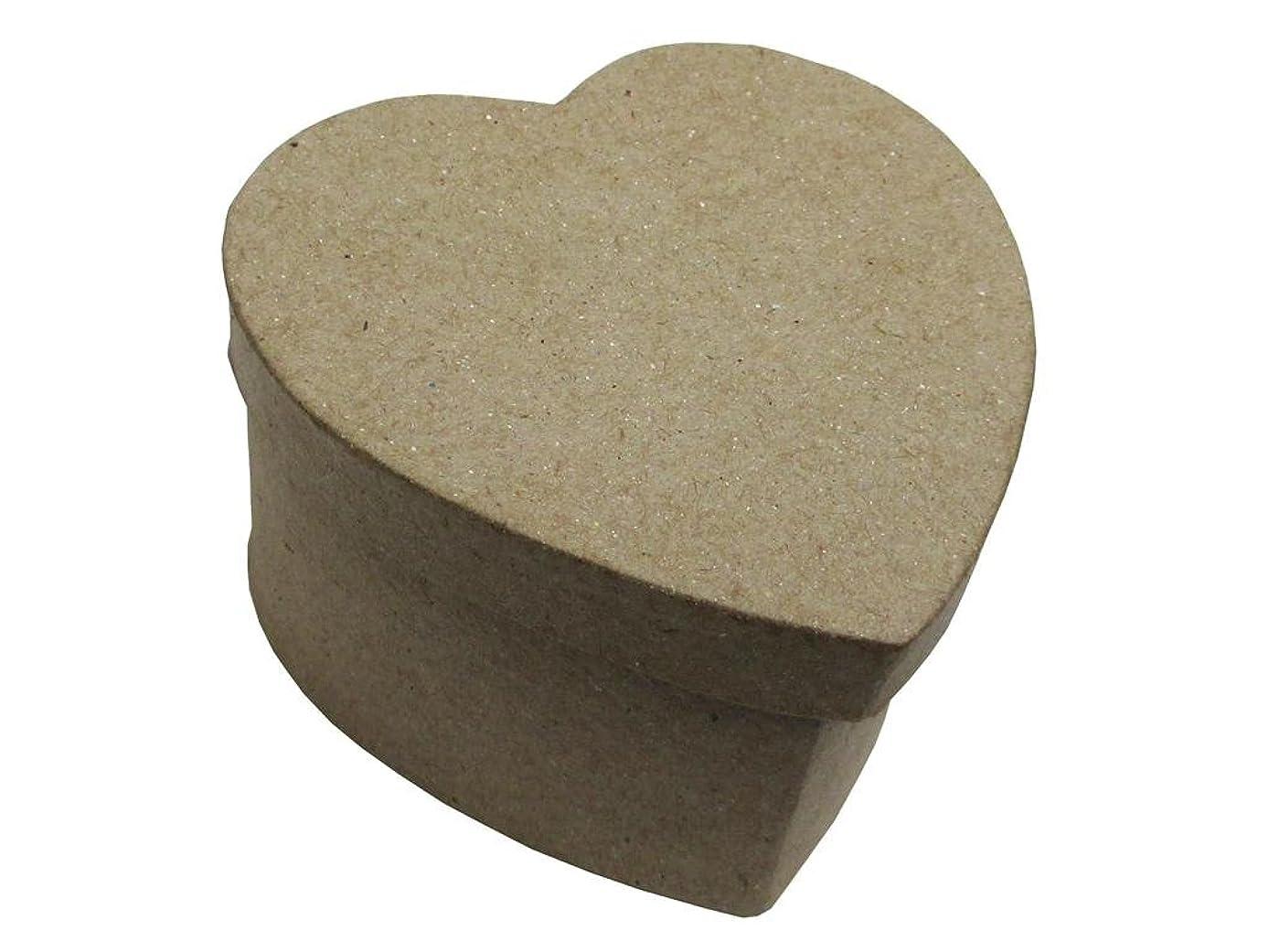 Craft Ped Paper CPLBV0124 Mache Box Mini Heart Kraft