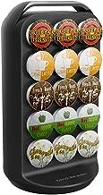 Mind Reader K-Cup Carousel, Holds 30 K-Cups, Coffee Pod Holder, Black