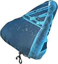 MSACRH Waterproof Bike Seat Cover Magical DNA Adults Teens Protective Water Resistant Bicycle Saddle Rain Sun Cover for Mo...