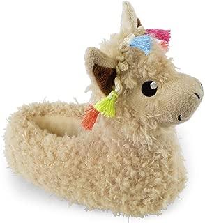 Childrens Novelty Llama Slippers