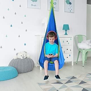 Costzon Child Pod Swing Chair Tent Nook Indoor Outdoor Hanging Seat Hammock Kids