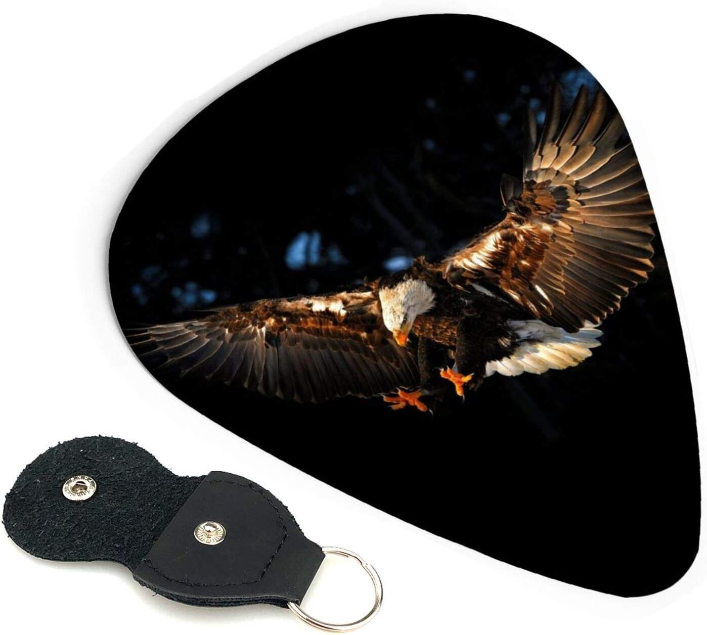 Phoenix Mall 6 Pack Celluloid Fire Eagle Guitar for Bass Picks Mus NEW before selling ☆
