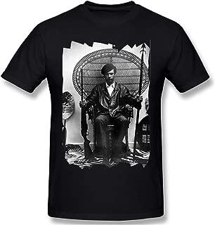 PTules Men Huey P Newton Power to The People Cozy T-Shirt Black XXL