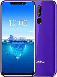 OUKITEL C12 Pro 4G Phablet Smartphone 2GB+16GB Android 8.1 Phone (Purple)