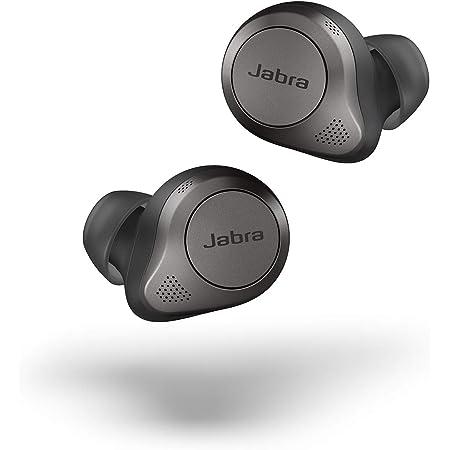 Jabra 完全ワイヤレスイヤホン アクティブノイズキャンセリング Elite 85t チタニウムブラック Bluetooth® 5.1 [国内正規品]