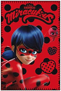 Miraculous Ladybug Tikki Fleece Blanket 100 x 150 cm (Exclusive Model) NM