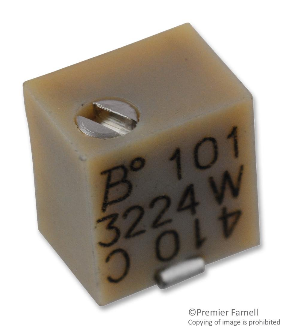 BOURNS Max Free Shipping New 81% OFF 3224W-1-104E TRIMMER POT 100KOHM 50 11TURN SMD pieces