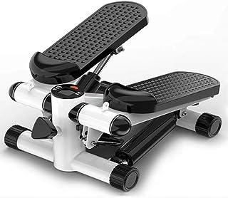 YZY Máquina Paso a Paso con Cintas de Entrenamiento, 2 en 1 Dispositivo de Entrenamiento Paso a Paso de Ejercicio Arriba-Abajo con Pantalla LED, Capacidad máxima de Carga 90 kg