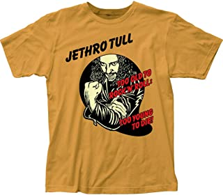kaixing Jethro Tull Too Young To Die Fitted Jersey T-Shirt