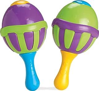 Brinquedo para Bebe Maracas com Sons, Elka, Multicor