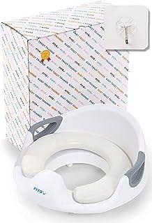 赞助广告- PIYO(PIYO) 儿童 坐便器 辅助 坐便器 幼儿 幼儿用坐便器 训练 儿童用 辅助坐便器 婴儿(白色)