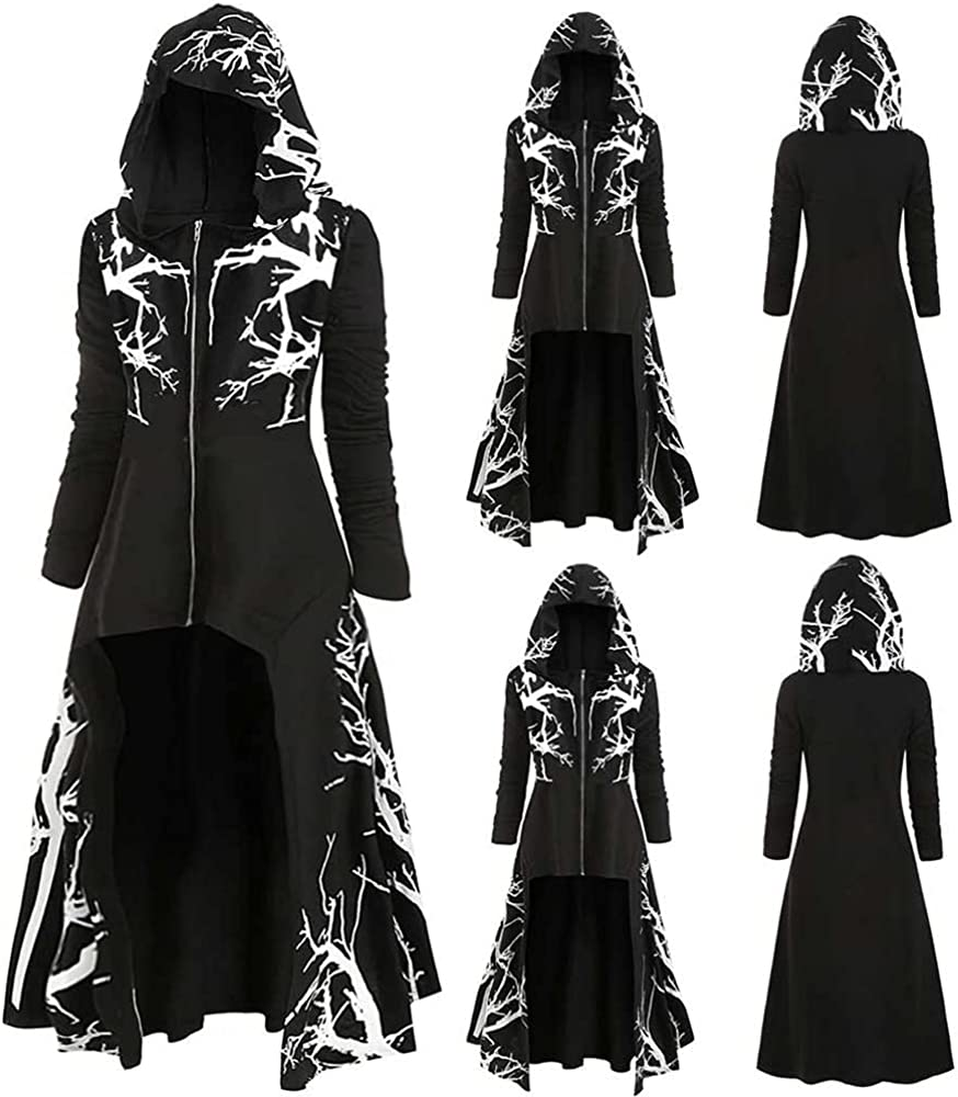 Halloween Medieval Costume 4 years warranty Witch Witchcraft Cape Cloak Vampire H Super beauty product restock quality top!