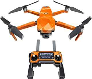 DJI Mavic 贴花套件 - 包括 1 个无人机/电池皮肤 + 控制器皮肤 Solar Storm Mavic 2/Zoom DJIM2-SOLARSTORM